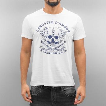 French Kick T-shirt Amphitryon bianco