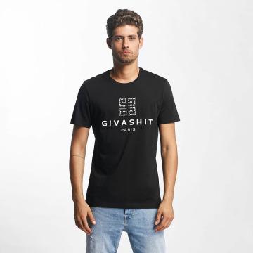 French Kick T-Shirt Shit black