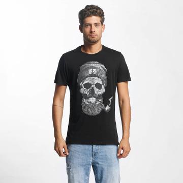 French Kick T-shirt Barbu nero