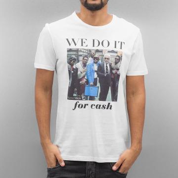 French Kick T-Shirt Raiders weiß