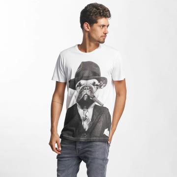 French Kick T-Shirt Al weiß