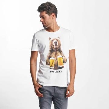 French Kick T-Shirt Big B white