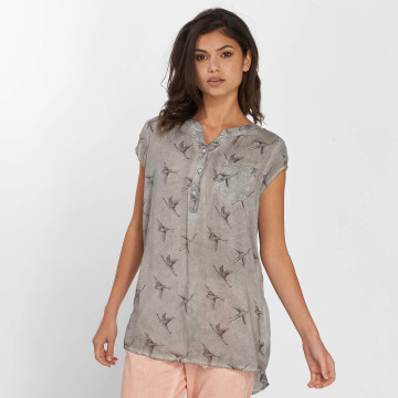 Fresh Made Blouse & Chemise Birds gris