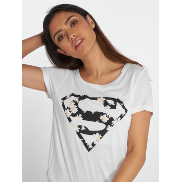 Fresh Made T-shirt Supergirl bianco