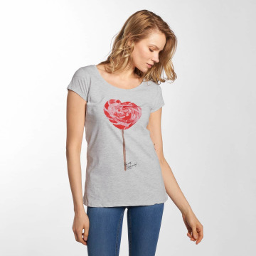Fresh Made t-shirt Basic grijs