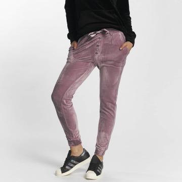 Fresh Made Verryttelyhousut Nicki purpuranpunainen