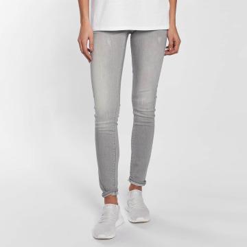 G-Star Облегающие джинсы Lynn Mid Tricia Superstretch серый