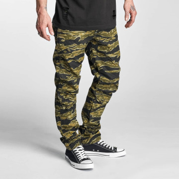 G-Star Antifit-farkut 5622 3D Tapered Lucas Canvas Woodland Camo camouflage