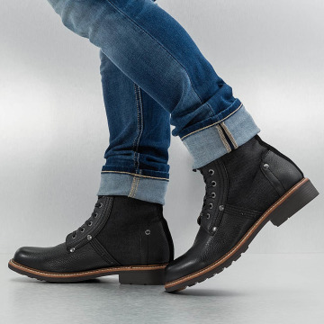 G-Star Boots Labour Leather schwarz