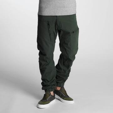 G-Star Chino pants Powel 3D Scota Weave Tapered Cuffed green