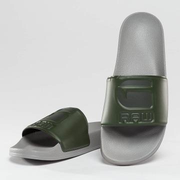 G-Star Claquettes & Sandales Cart Slide gris