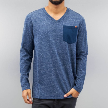 G-Star Pitkähihaiset paidat Riban Pocket Premium Compact Jersey sininen