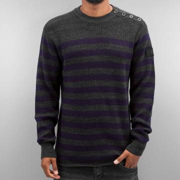 G-Star Pullover Dadin Stripe Knit gray