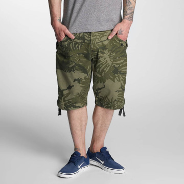 G-Star shorts Rovic Camo DC Loose 1/2 groen