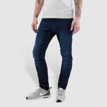 G-Star Slim Fit Jeans Revend синий