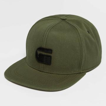 G-Star snapback cap Obaruh Cotton Twill groen