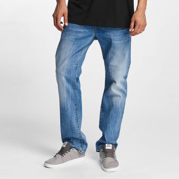 G-Star Straight Fit Jeans 3301 Hadron Stretch Denim Straight Fit blå