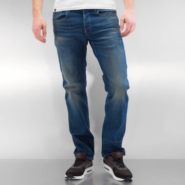 G-Star Straight fit jeans Revend Straight Firro Stretch Denim blauw
