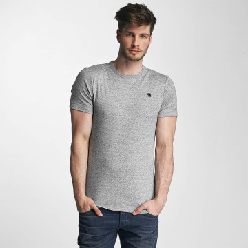 G-Star T-Shirt Unstand Premium Cool Rib grey