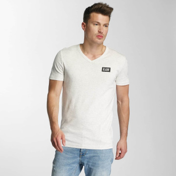 G-Star T-shirts Drillon Cool Rib hvid