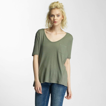 G-Star T-Shirty Adisyon Straight Deep Cereme zielony