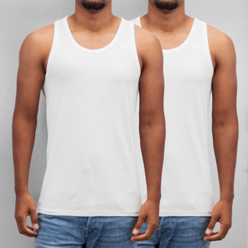 G-Star Tank Tops Base Doppelpack white