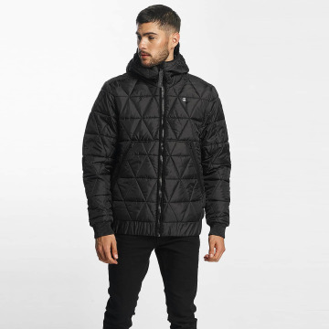 G-Star Winter Jacket Strett Utility Myrow Pes Dye Quilted Hooded black