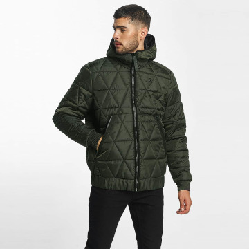 G-Star Winter Jacket Strett Utility Myrow Pes Dye Quilted Hooded olive