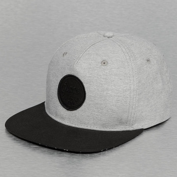 Globe Snapback Cap Argyle grau