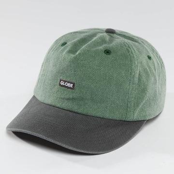 Globe Snapback Cap Dreamer Low Rise verde