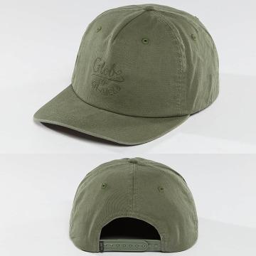 Globe Snapback Cap Myles verde