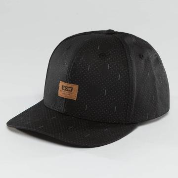 Globe snapback cap Stanley 6 Panel zwart