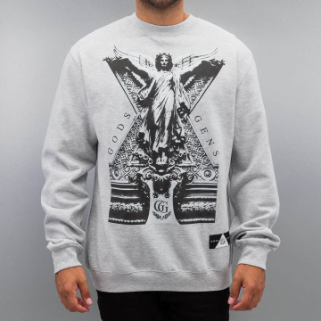Gods & Generals Jumper Shelf Life grey