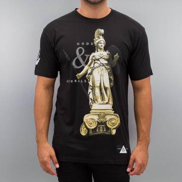 Gods & Generals T-shirt Athena nero