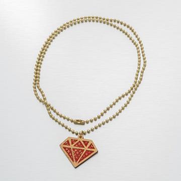 Good Wood NYC Kaulaketjut NYC Micro Diamond Mono punainen