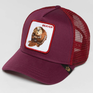 Goorin Bros. Trucker Cap Two Beavers rot