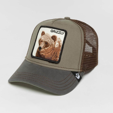Goorin Bros. Trucker Caps Grizz olivový