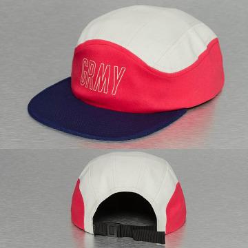 Grimey Wear 5 Panel Caps Rock Creek wit