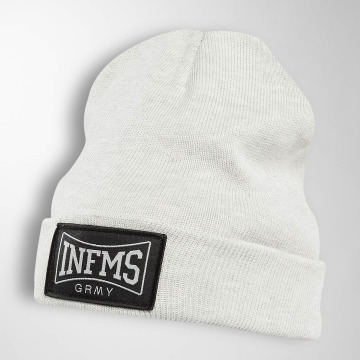 Grimey Wear Beanie The Gatekeeper grau