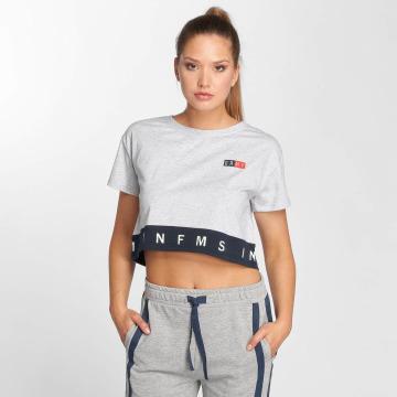 Grimey Wear Camiseta Ashe gris