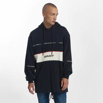 Grimey Wear Hoody Counterblow Long blau