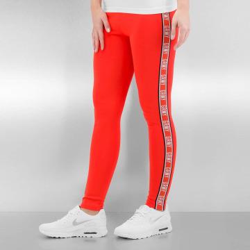 Grimey Wear Leggings/Treggings The Heat czerwony
