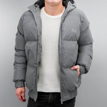 Grimey Wear Puffer Jacket Fire Eater grau
