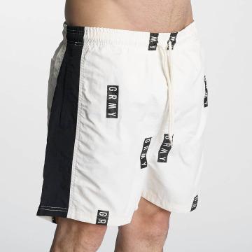 Grimey Wear Shorts Stick Up bianco
