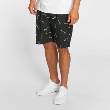 Grimey Wear Shorts Echoes Light svart
