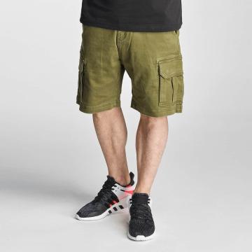 Grimey Wear Shortsit Cargo vihreä