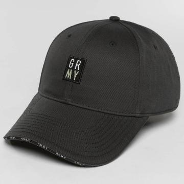 Grimey Wear Snapback Caps Ashe svart