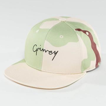 Grimey Wear Snapback Natural Camo maskáèová