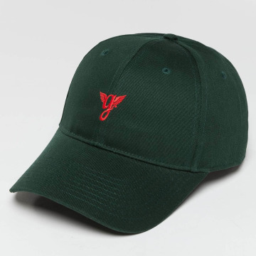 Grimey Wear Snapback Heritage Curved Visor zelená