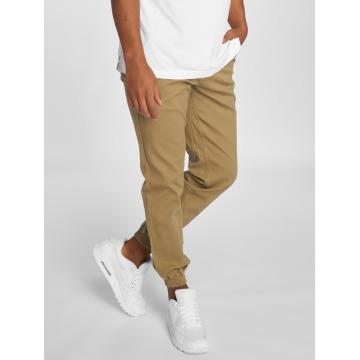 Grimey Wear Spodnie do joggingu Twill Peach bezowy